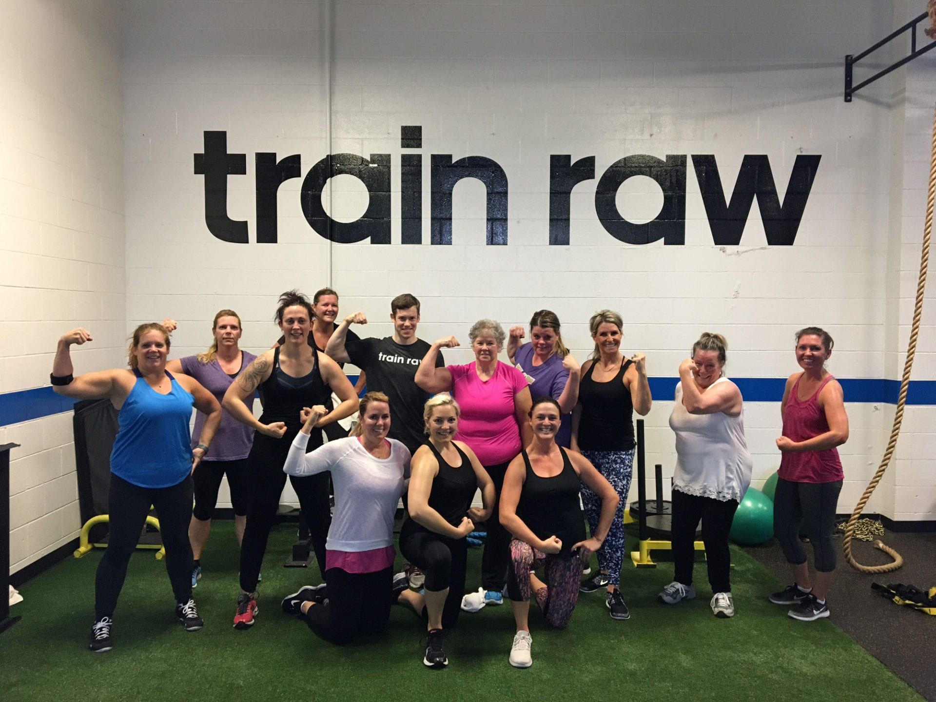Fitness Train Raw